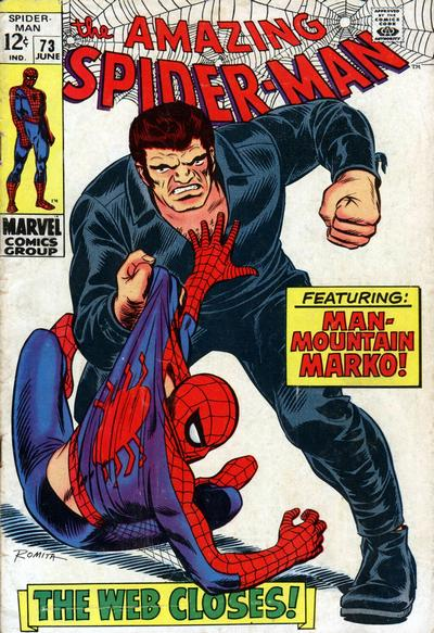 Cover for The Amazing Spider-Man (1963 series) #73