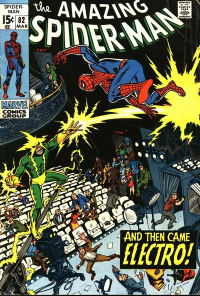 Cover for The Amazing Spider-Man (Marvel, 1963 series) #82 [Regular Edition]