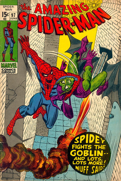 Cover for The Amazing Spider-Man (Marvel, 1963 series) #97