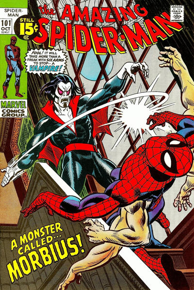 Cover for The Amazing Spider-Man (Marvel, 1963 series) #101 [Regular Edition]