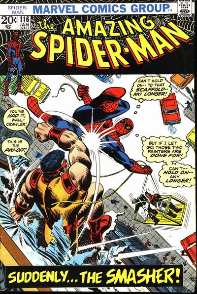 Cover for The Amazing Spider-Man (Marvel, 1963 series) #116 [Regular Edition]