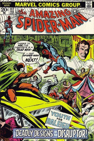 Cover for The Amazing Spider-Man (Marvel, 1963 series) #117 [Regular Edition]