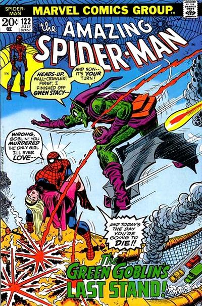 Cover for The Amazing Spider-Man (Marvel, 1963 series) #122