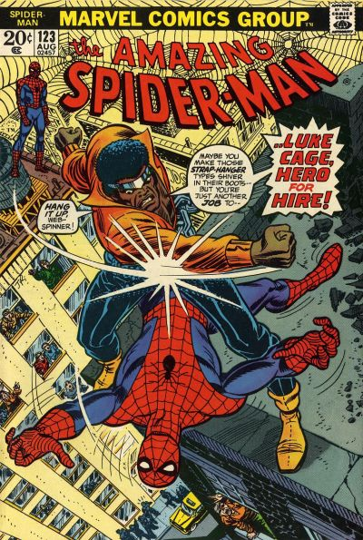 Cover for The Amazing Spider-Man (Marvel, 1963 series) #123