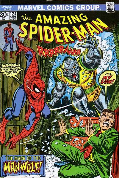 Cover for The Amazing Spider-Man (Marvel, 1963 series) #124