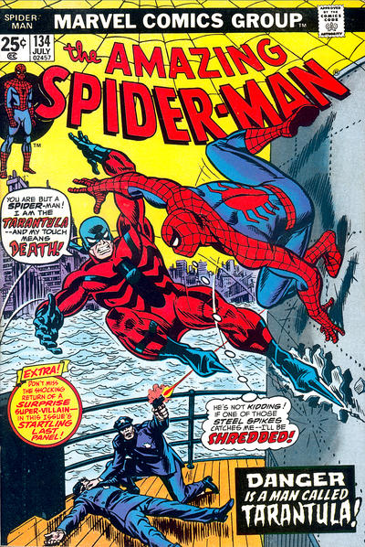 Cover for The Amazing Spider-Man (Marvel, 1963 series) #134