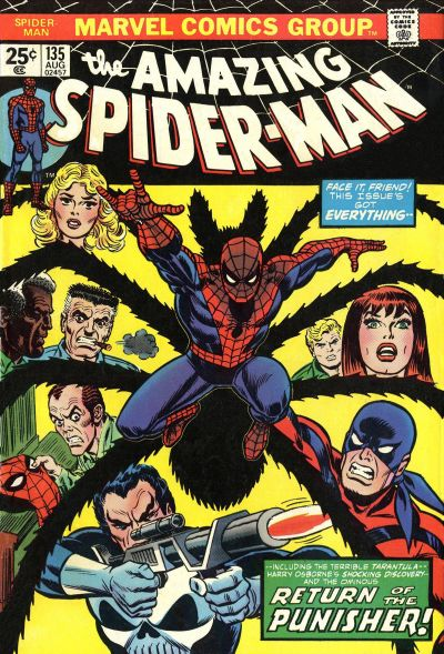 Cover for The Amazing Spider-Man (1963 series) #135