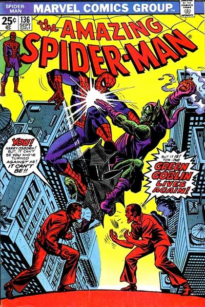 Cover for The Amazing Spider-Man (1963 series) #136