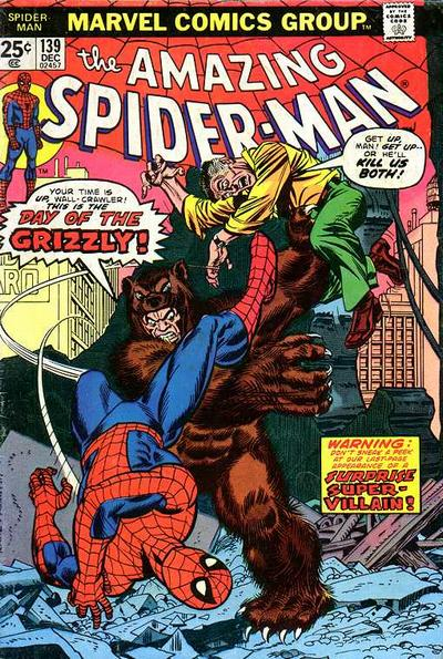 Cover for The Amazing Spider-Man (Marvel, 1963 series) #139