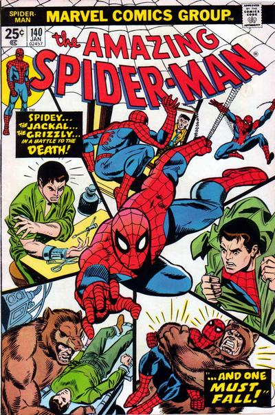 Cover for The Amazing Spider-Man (Marvel, 1963 series) #140