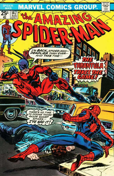 Cover for The Amazing Spider-Man (Marvel, 1963 series) #147