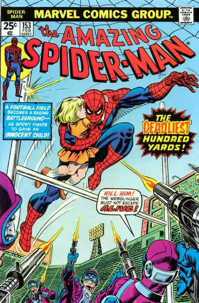 Cover for The Amazing Spider-Man (Marvel, 1963 series) #153