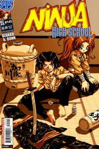 Cover Thumbnail for Ninja High School (Antarctic Press, 1994 series) #145