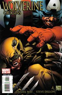 Cover Thumbnail for Wolverine: Origins (Marvel, 2006 series) #4 [Quesada Cover]