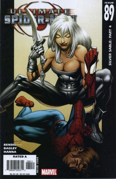 Cover for Ultimate Spider-Man (2000 series) #89