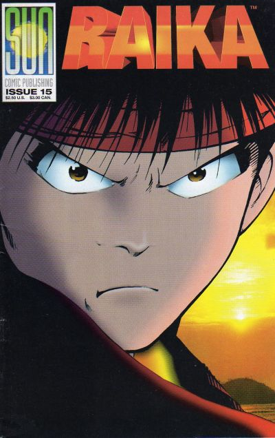 Cover for Raika (1992 series) #15