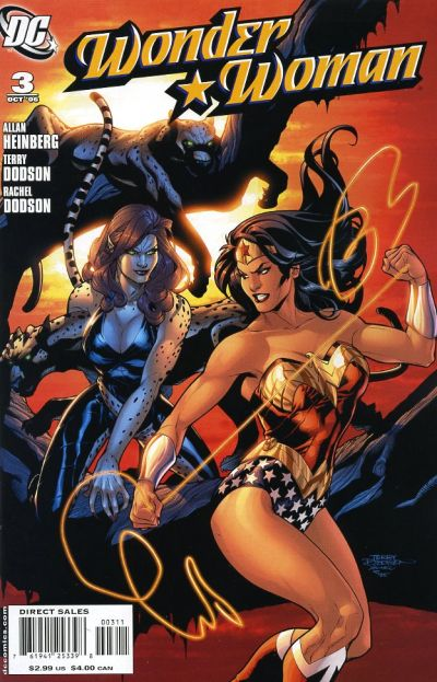 Cover for Wonder Woman (2006 series) #3