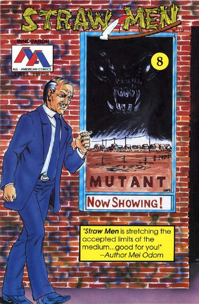 Cover for Straw Men (Innovation, 1989 series) #8