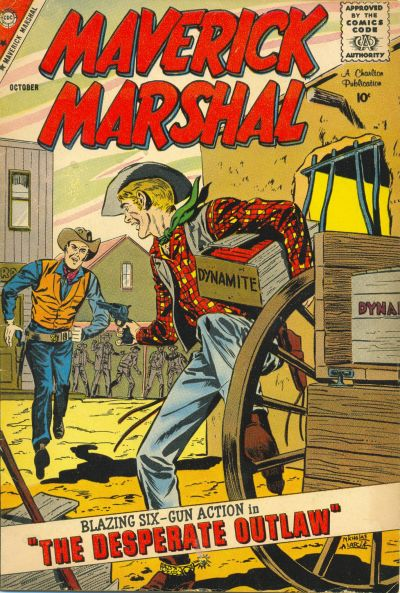 Cover for Maverick Marshal (1958 series) #6