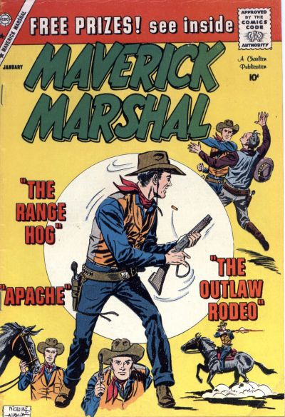 Cover for Maverick Marshal (1958 series) #7