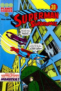 Cover Thumbnail for Superman Supacomic (K. G. Murray, 1959 series) #184