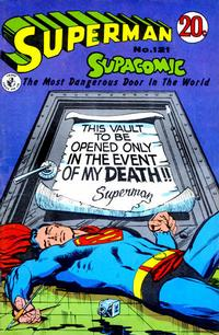 Cover Thumbnail for Superman Supacomic (K. G. Murray, 1959 series) #121