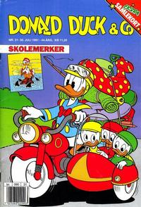 Cover Thumbnail for Donald Duck & Co (Hjemmet, 1948 series) #31/1991
