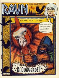 Cover for Ravn (Bladkompaniet, 1984 series) #1/1984