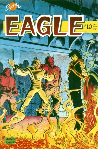 Cover for Eagle (Crystal Publications, 1986 series) #10