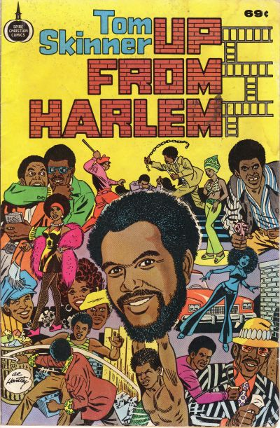 Cover for Up from Harlem (1973 series) #[nn] [49-Cent Variant]