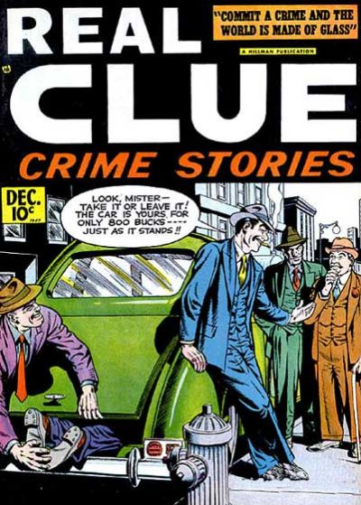 Cover for Real Clue Crime Stories (1947 series) #v2#10 [22]