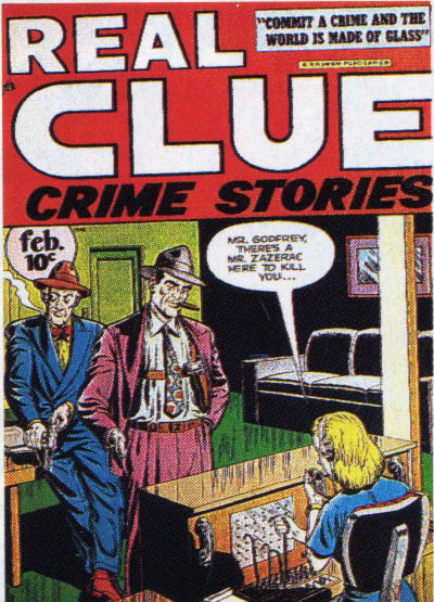 Cover for Real Clue Crime Stories (Hillman, 1947 series) #v2#12 [24]
