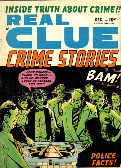 Cover for Real Clue Crime Stories (Hillman, 1947 series) #v5#10 [58]
