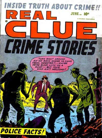 Cover for Real Clue Crime Stories (1947 series) #v6#4 [64]