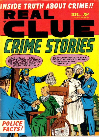 Cover for Real Clue Crime Stories (Hillman, 1947 series) #v6#7 [67]
