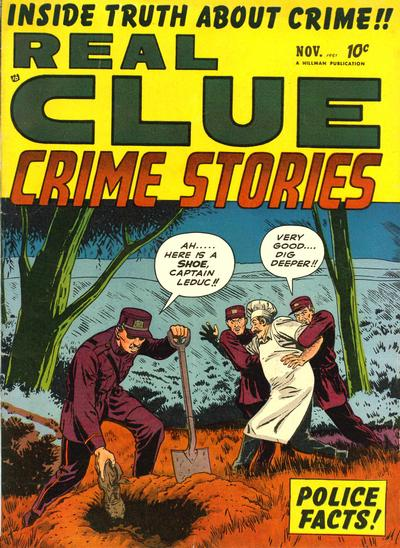 Cover for Real Clue Crime Stories (Hillman, 1947 series) #v6#9 [69]