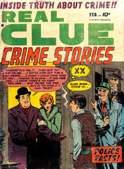 Cover for Real Clue Crime Stories (1947 series) #v6#12 [72]