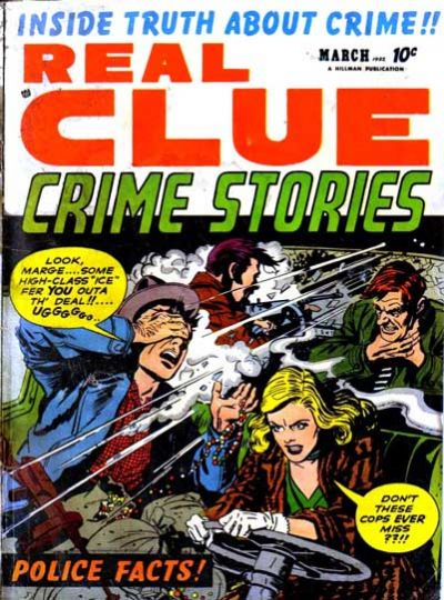 Cover for Real Clue Crime Stories (1947 series) #v7#1 [73]