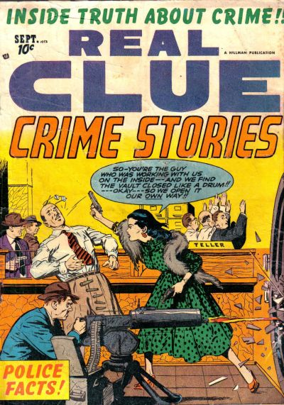 Cover for Real Clue Crime Stories (1947 series) #v7#7 [79]