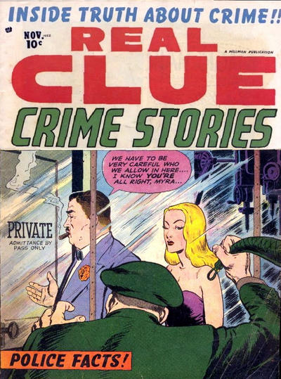 Cover for Real Clue Crime Stories (1947 series) #v7#9 [81]