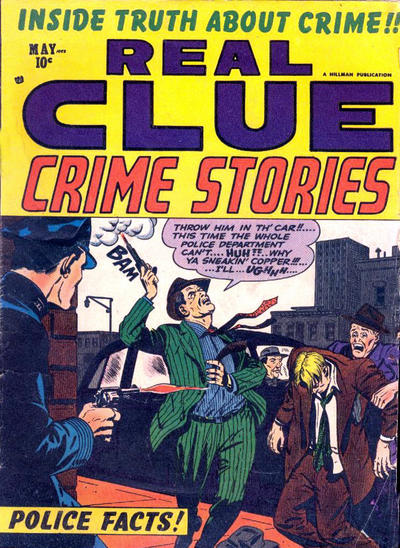 Cover for Real Clue Crime Stories (Hillman, 1947 series) #v8#3 [87]