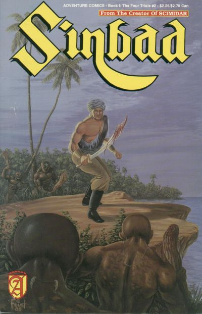 Cover for Sinbad (Malibu, 1989 series) #2
