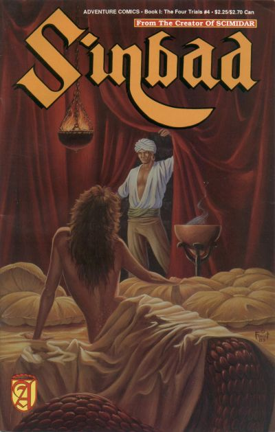 Cover for Sinbad (Malibu, 1989 series) #4