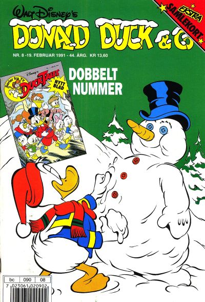 Cover for Donald Duck & Co (Hjemmet, 1948 series) #8/1991