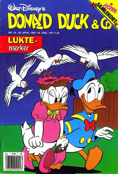 Cover for Donald Duck & Co (Hjemmet, 1948 series) #18/1991