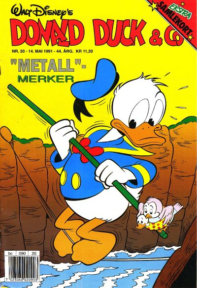 Cover for Donald Duck & Co (Hjemmet / Egmont, 1948 series) #20/1991