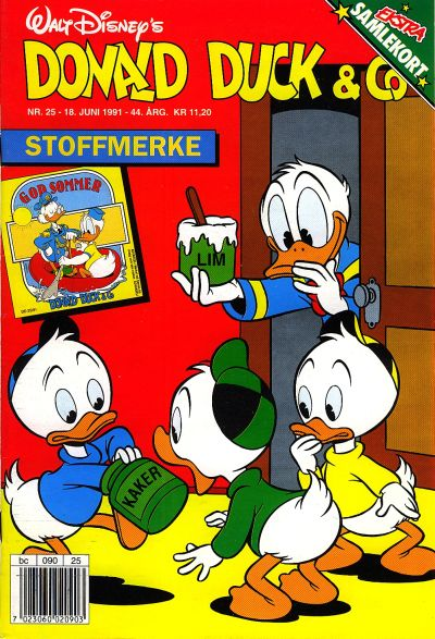 Cover for Donald Duck & Co (Hjemmet, 1948 series) #25/1991