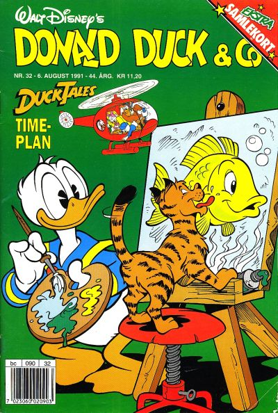 Cover for Donald Duck & Co (Hjemmet, 1948 series) #32/1991