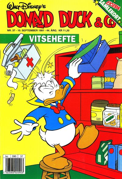 Cover for Donald Duck & Co (Hjemmet, 1948 series) #37/1991