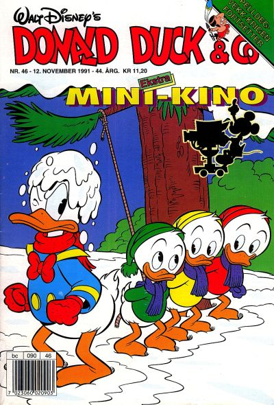Cover for Donald Duck & Co (Hjemmet, 1948 series) #46/1991